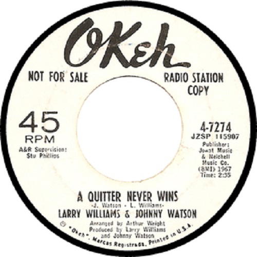 A Quitter Never Wins Northern Soul Monday Lyriquediscorde