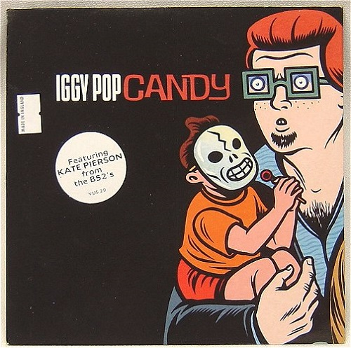 Candy Iggy Pop Single Song of the Day Lyriquediscorde
