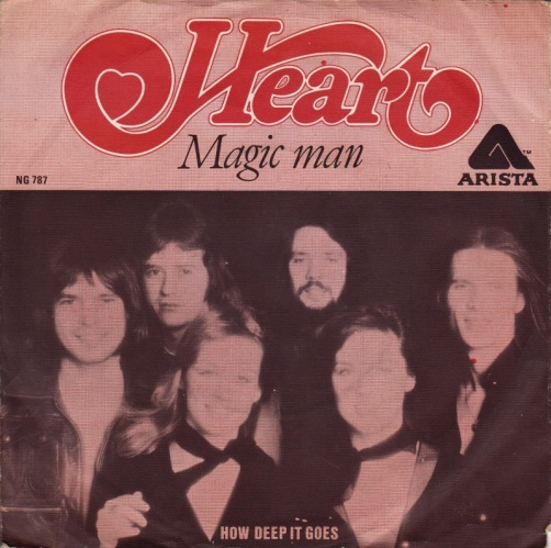 Heart Magic Man Single Song of the Day LD