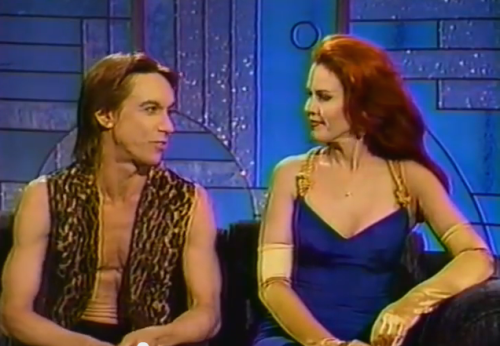 Iggy Pop and Kate Pierson Candy SOTD