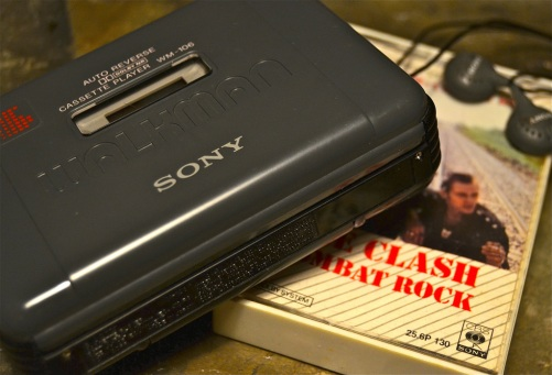 The Clash Combat Rock Cassette