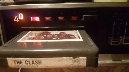 The Clash Combat Rock 8-Track