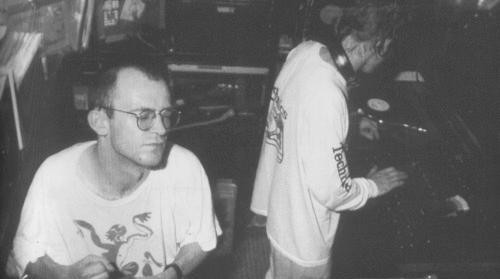 Graeme Park and Mike Pickering at the Haçienda in 1989