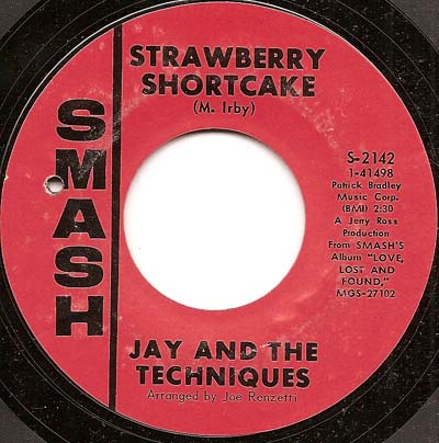 Jay and the Techniques Smash Records