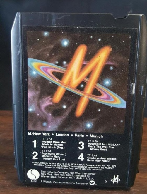 M New York London Paris Munich 8-Track Tape