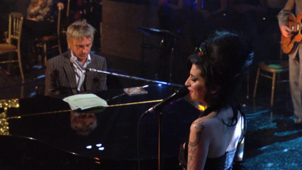 Paul Weller and Amy Winehouse Weller Wednesday