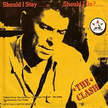 The Clash Single Should I Stay Or Should I Go
