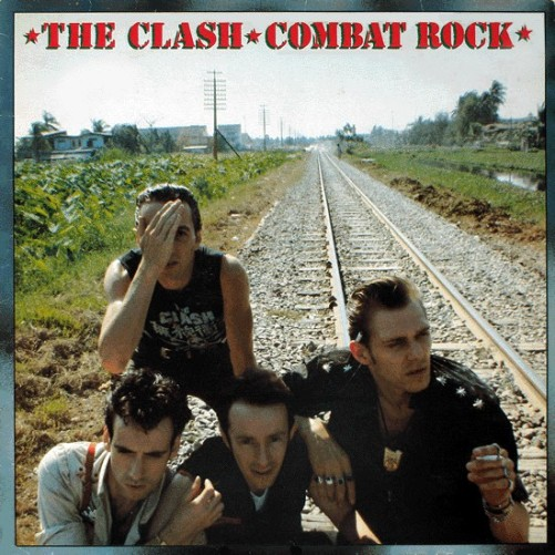 The Clash Combat Rock Album Cover