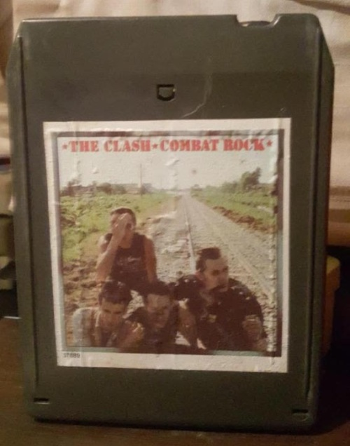 The Clash Combat Rock 8-Track Tape Lyriquediscorde