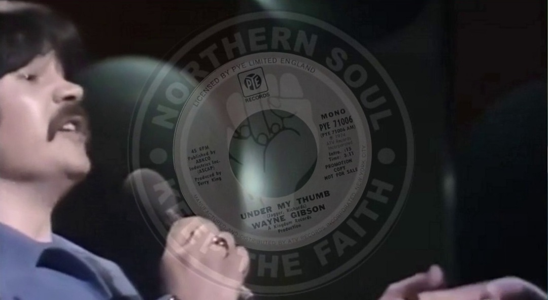 Wayne Gibson Northern Soul Monday Header
