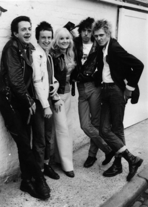 Janie Jones and The Clash Song of the Day