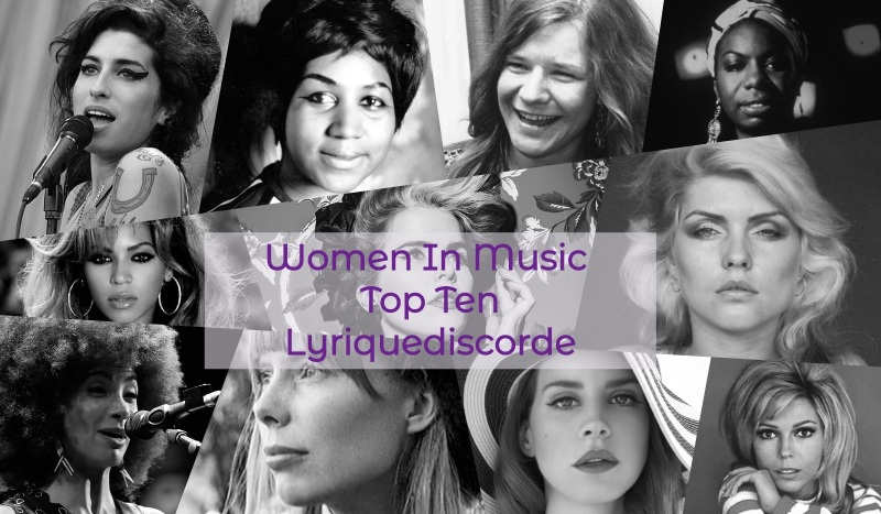 Top Ten Women In Music