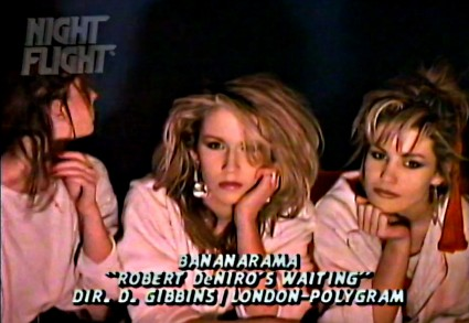Robert DeNIro Bananarama Night Flight