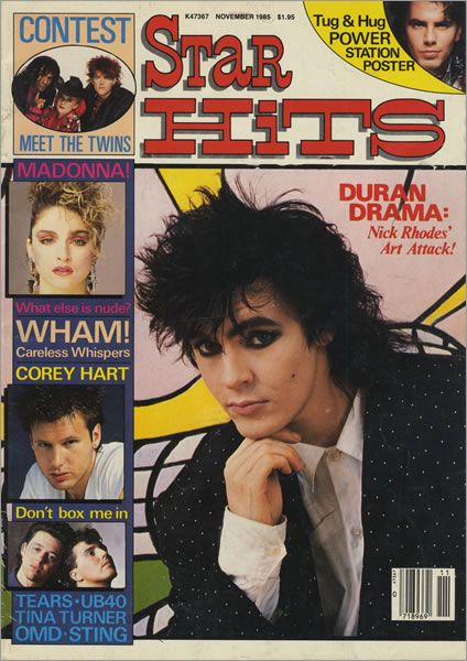STAR HITS nick rhodes