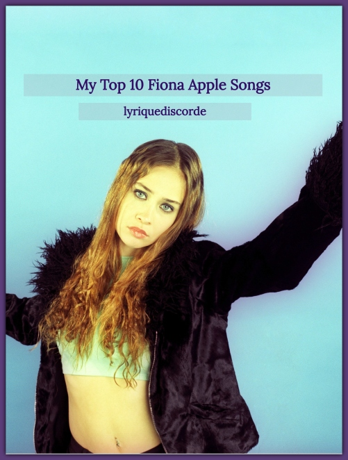 Fiona Apple My Top 10 Header