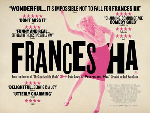 Movie poster Frances Ha