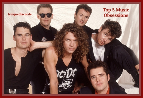 INXS Top 5 Music Obsessions Header