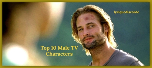 Top 10 TV Male Characters TOTD Header