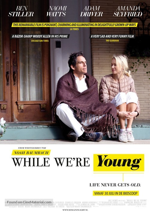 while-were-young-dutch-movie-poster
