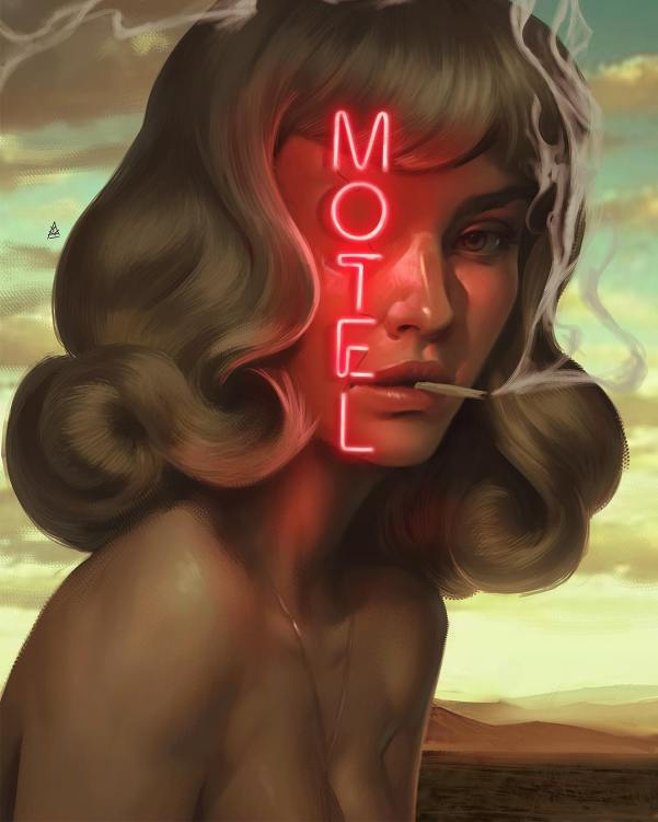 motel art by Aykut Aydogdu