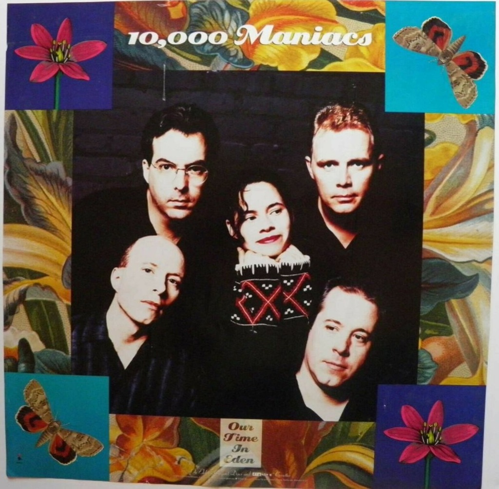 """10,000 Maniacs """"Eden"""" Give Me Five"""