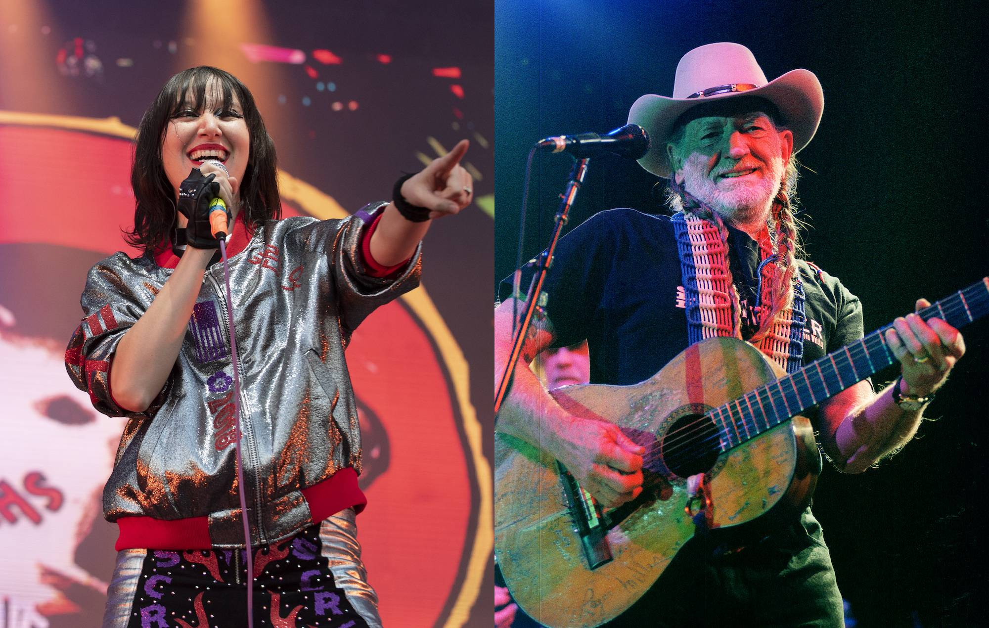 """Karen O and Willie Nelson """"Under Pressure"""" Give Me F Song 5"""