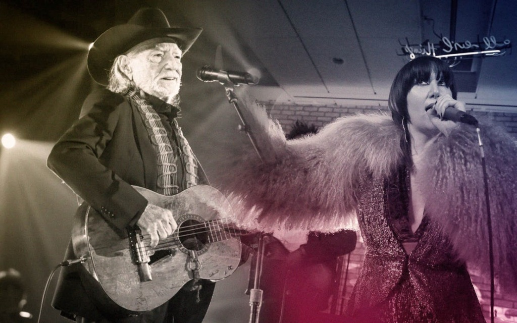 """Karen O and Willie Nelson """"Under Pressure"""" Give Me Five"""